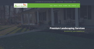 E-Scapes Landscaping Company in Virginia