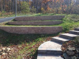 Stone Work Project Stairs