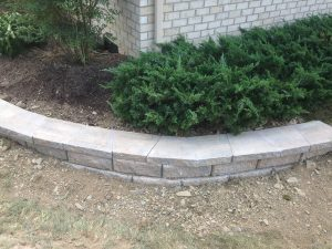 Stone Work Project Retaining Wall