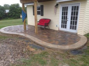 Stone Work Project Patio