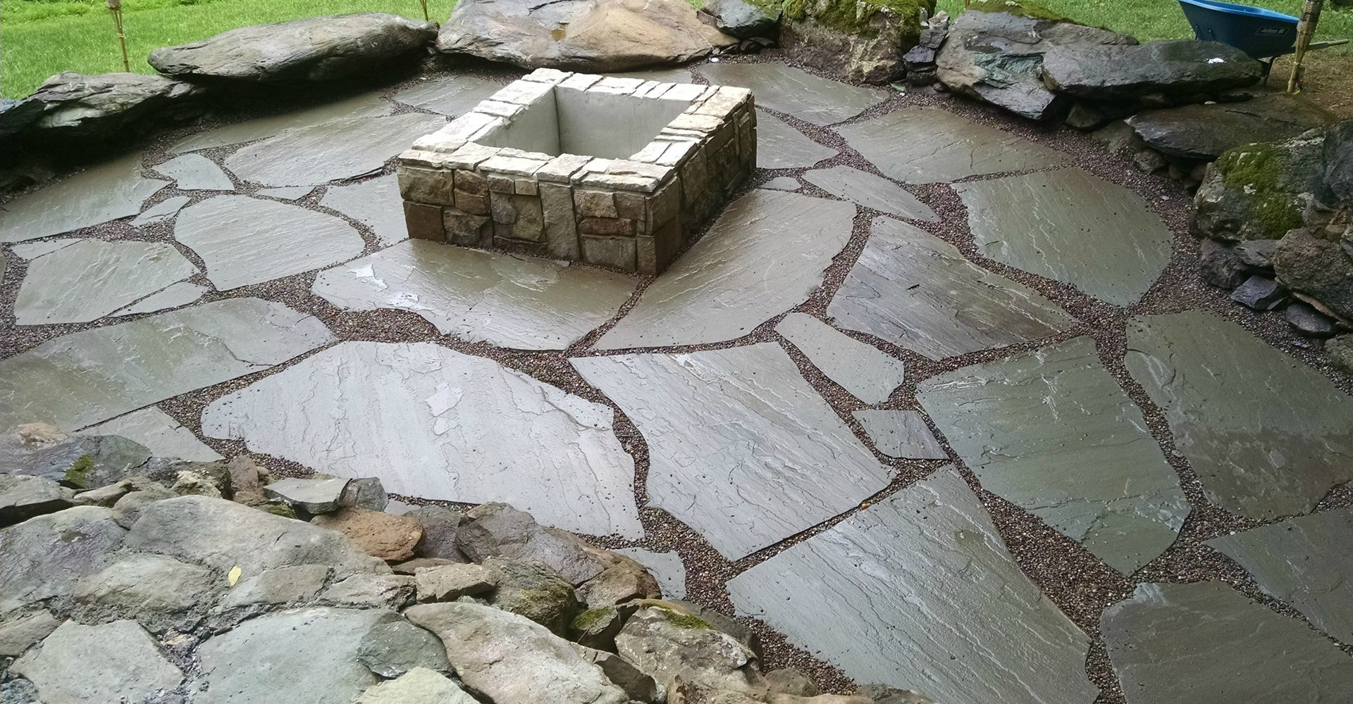 Stone Landscape Projects : E scapes va landscaping and land clearing company
